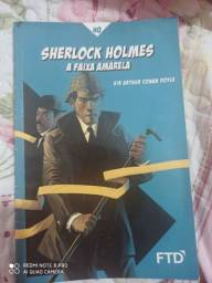 Livro Sherlock Holmes - a  faixa amarela