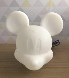 Título do anúncio: Luminaria Abajour Quarto Infantil Mickey Mouse