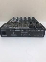 Mesa behringer 8 canais