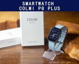 Smartwatch Azul Colmi p8 Plus lançamento 2021 - Novo e Original