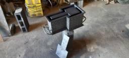Formas p/ blocos e canaletas de cimento