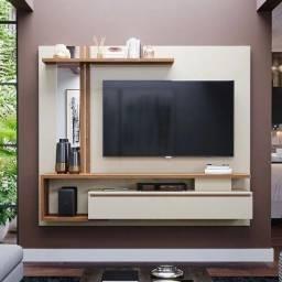 Oferta!! Painel Treviso para TV com Apliques em Espelho - Só R$649,00