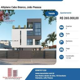 Título do anúncio: Apartamento para Venda em João Pessoa, Altiplano Cabo Branco, 1 dormitório, 1 suíte, 1 ban