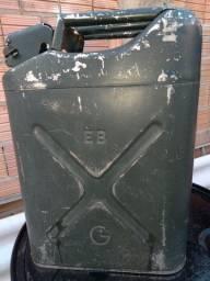Galão de combustível do exército alumínio