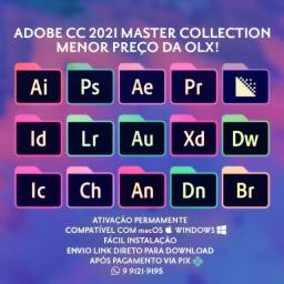 Pacote Adobe CC 2021 Menor Preço da OLX R$10! Completo, Permanente macOS ou Windows