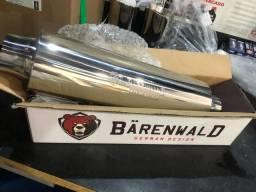Título do anúncio: Abafador Barnwald inox 3/2.5 polegadas