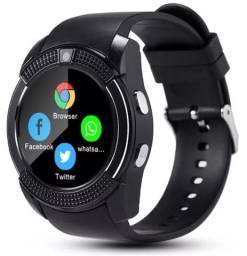 Relógio Inteligente Esporte Smartwatch Android Tela De Toque