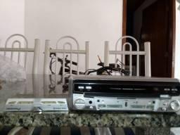 DVD Pionner Automotivo Retrátil