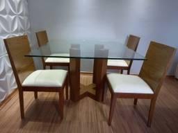 Mesa com 6 cadeiras (Super oferta pra sair hoje!!!)