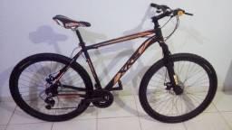Bicicleta (bike) aro 29 freio a disco quadro 21