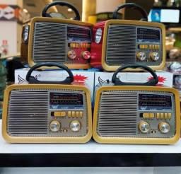 Radio Retrô AM/FM/SD/USB/Bluetooth A3188 / Altomex