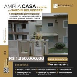 Título do anúncio: Ampla Casa Jardim Belvedere - (4 dormitórios, acabamento fino e área de lazer completa)