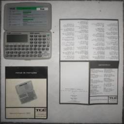 Agenda eletrônica TCÉ C802 2KB (Raridade, Antiguidade, Relíquia para colecionadores)