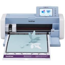 Título do anúncio: Máquina plotter Recorte c/Scanner ScanNCut 110v SDX225 Brother (seminova)