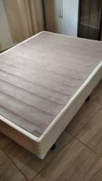 Base cama box casal 100% eucalipto reforçada