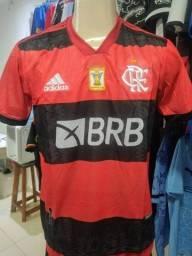 Camisa Flamengo Dry-Fit Time Premium
