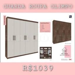 Título do anúncio: Guarda-roupa Olimpo / roupeiro Olimpo