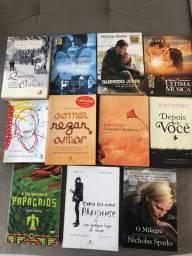 Livros Romances - Todos por R$ 50 reais  - consultar valor unitário