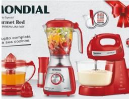 Kit especial gourmet red Premium inox