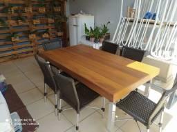 Mesa pronta entrega aluminio tampo Ype