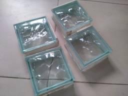 Tijolos de vidro- blocos de vidro