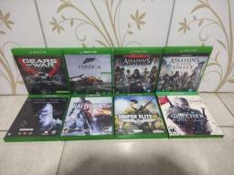 Título do anúncio: Jogos para Xbox One 8 unidades