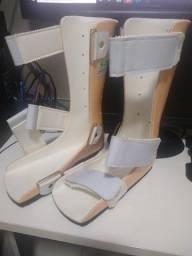 Órtese - Bota Ortopédica - Calha Fixa Bilateral