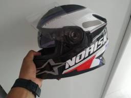 Vendo capacete norisk mais informações chame no whats *