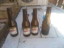 Garrafa de cerveja  cerca 16R$