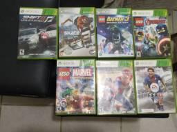 Vendo varias jogos Xbox 360 usados juntos ou separados super promoção