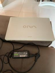 Notebook Sony Vaio, semi-novo