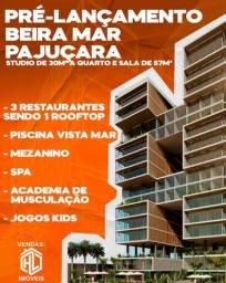Lançamento Beira Mar Pajuçara Studio e Quarto e Sala