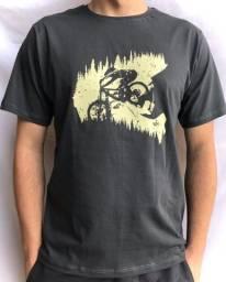 T-shirt Forest Helmet MTB