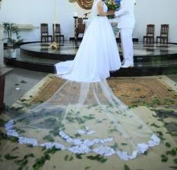 Título do anúncio: Véu de noiva