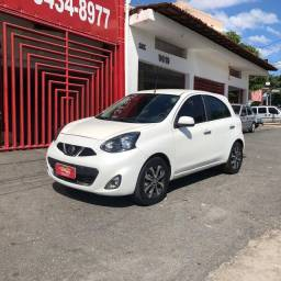 Nissan March SL 1.6  2015 Completo !