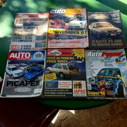 230 Exemplares de revistas automotivas