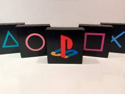 Quadros decorativos Playstation, Xbox & Games