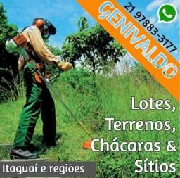 Título do anúncio: Operador Roçadeira - Terrenos - Limpeza
