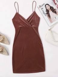 Título do anúncio: Vestido NOVO da Shein  (PP)