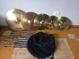 Set de Pratos Orion Twister 14/16/20 + Bag + Bacalhau 19' Reparado /18