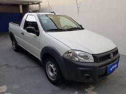 Fiat Strada 1.4 Hard Working CS Flex branca 2020