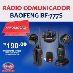 Rádio comunicador Baofeng BF-777S? Entrega grátis
