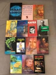 Livros clássicos e pensadores - Todos R$ 60 reais consultar valor unitário