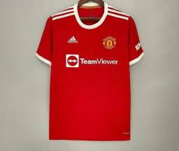 Título do anúncio: Camisa Manchester United Temporada 22 Lançamento