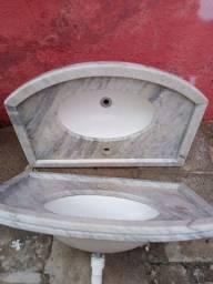 Pia de granito para banheiro no precinho.