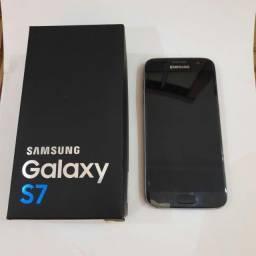 Galaxy S7 com Display quebrado (Funciona 100% mas a tela fica preta)