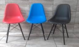 Cadeiras Conchas Nova - Varias Cores - Giratoria E Fixas - Home Office