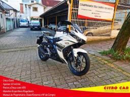 Yamaha YZF R3 ABS 2018 Único Dono Branca Perolizada