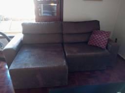 Sofa dois lugares reclinável-Usado