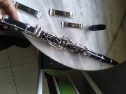 Clarinete Yamaha 20 + Boquilha Vandoren + Boquilha Buffet Crampom